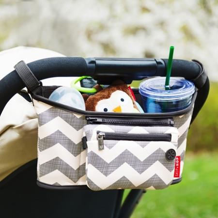 Picture of Skip Hop® Grab&Go Stroller Organizer Chevron