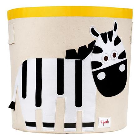 Picture of 3Sprouts® Storage Bin Zebra