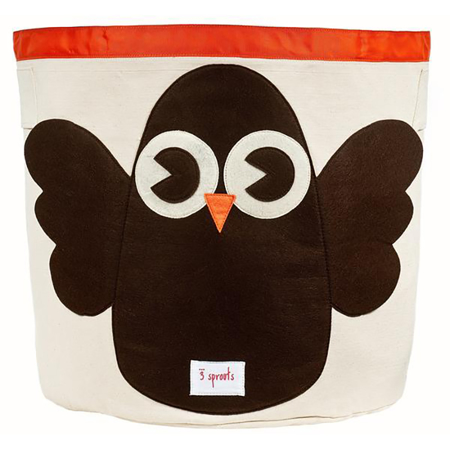 Picture of 3Sprouts® Storage Bin Owl