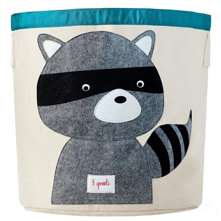 3Sprouts® Storage Bin Raccoon