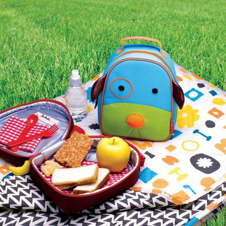 Picture of Skip Hop® Insulated Kids Lunch Bag Puppy