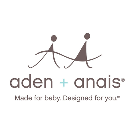 Picture of Aden+Anais® Muslin Squares 3-Pack Metalic Gold Deco 70x70