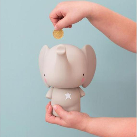 Picture of A Little Lovely Company® Money Box Elephant