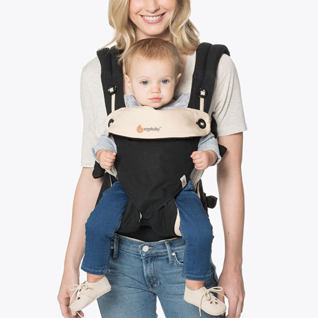 Picture of Ergobaby® 360 Baby Carrier All Carry Positions Black Camel