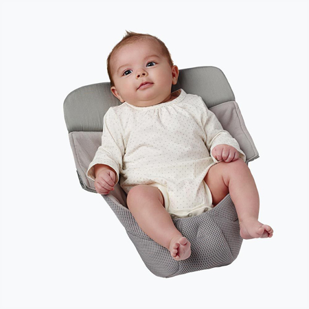 Picture of Ergobaby® Easy Snug Infant Insert Cool Air Mesh Grey
