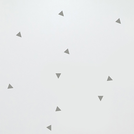 Immagine di Pick Art Design® Adesivo da parete Triangoli Grigi