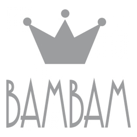 BamBam® Wooden Letters Grey