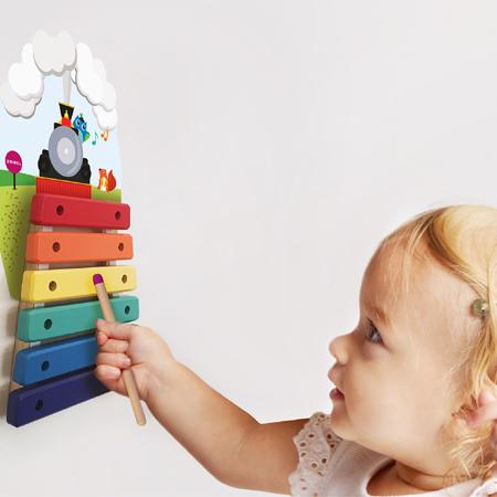 Oribel® Vertiplay Wall Toy Musical Rail Track