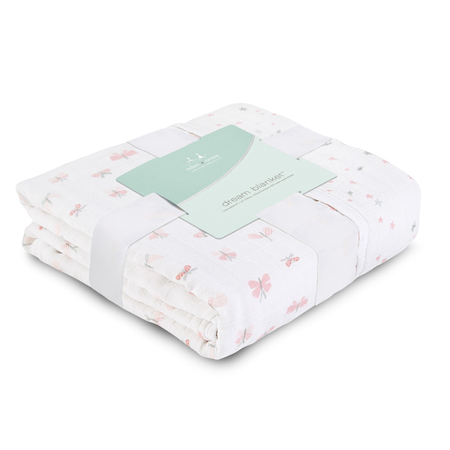 Picture of Aden+Anais® Classic Dream Blanket  Lovely Reverie Butterflies (120x120)