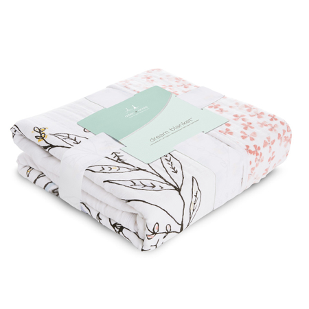 Aden+Anais® Classic Dream Blanket Birdsong Noble Nest (120x120)