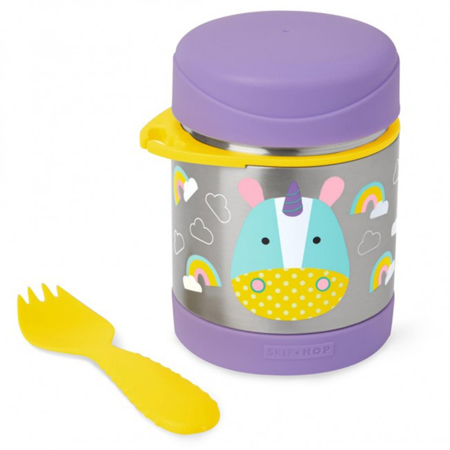 Picture of Skip Hop® Insulated Little Kid Food Jar Unicorn