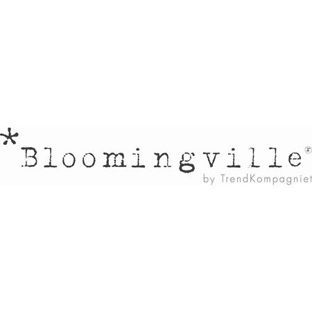 Slika Bloomingville® Košara s cofki Pink