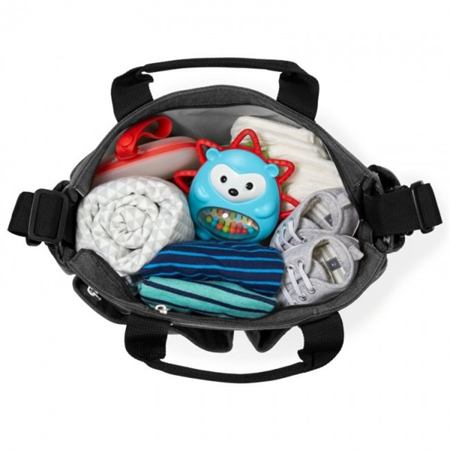 Picture of Skip Hop® Duo Signature Diaper Bag Soft Slate