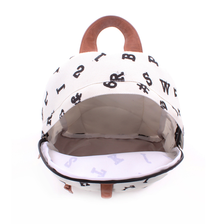 Picture of Kidzroom® Round Backpack Black&White Hearts