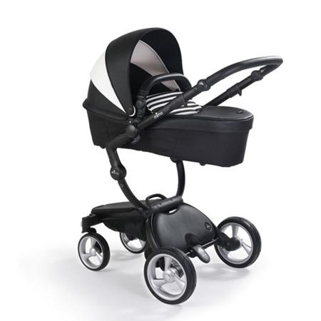 Mima® Stroller Xari Black&White + Starter Pack