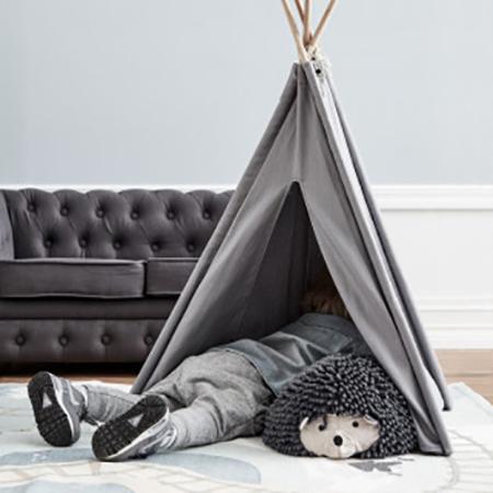 Kids Concept®  Mini Tipi Tent Grey