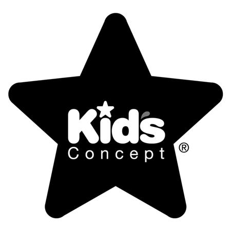 Kids Concept® Single Hook Star Grey