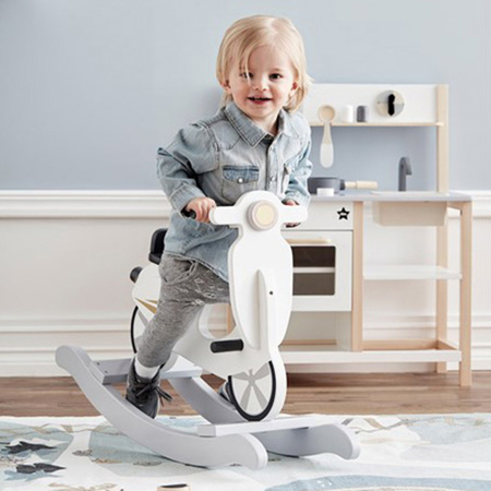 Slika Kids Concept® Rocking scooter Grey