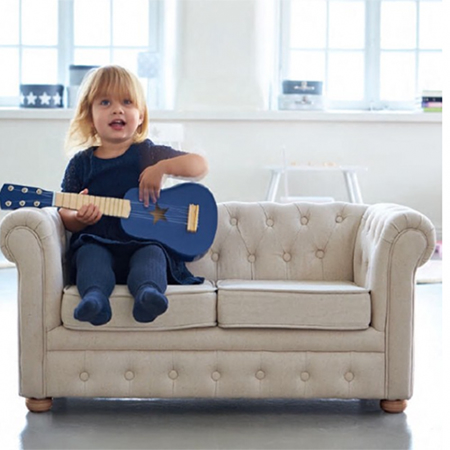 Picture of Kids Concept® Chesterfield Sofa Beige