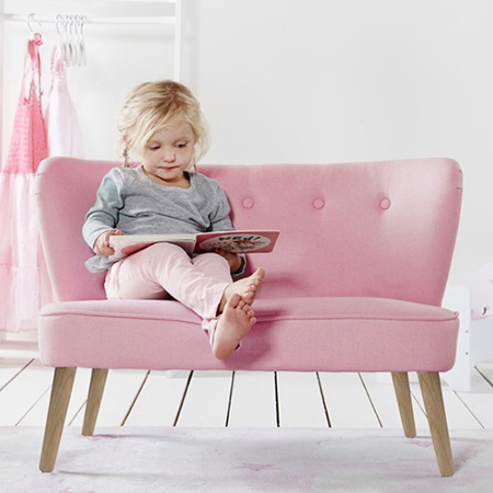 Picture of Kids Concept® Sofa Pink