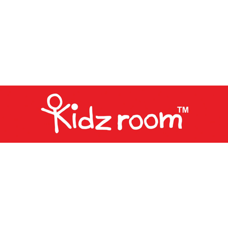 Kidzroom® Suitcase Black&White Hearts