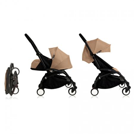 Babyzen® YOYO Newborn Stroller 0+ Taupe White Frame