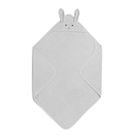 Picture of Liewood® Hooded Towel - Rabbit Grey