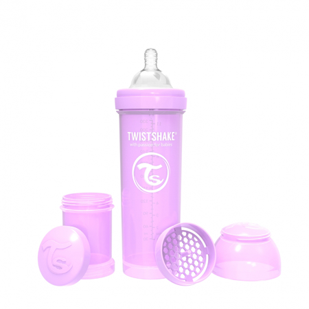 Slika Twistshake® Steklenička Anti-Colic 330ml Pastel (4+m)