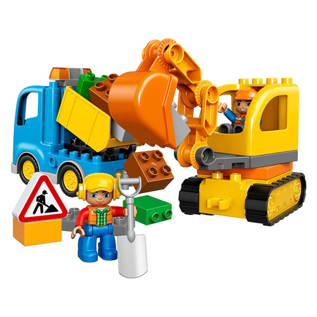 Picture of Lego® Duplo Truck&Tracked Excavator