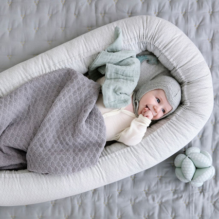 CamCam® Baby Nest Grey Wave