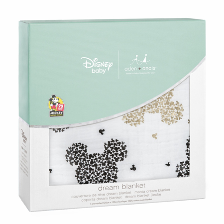Aden+Anais® Classic Dream Blanket Disney's Mickey's 90th (120x120)