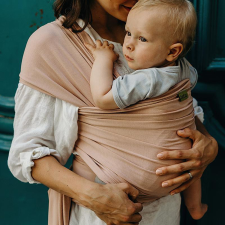 Boba® Boba Wrap Carrier Bamboo Bloom