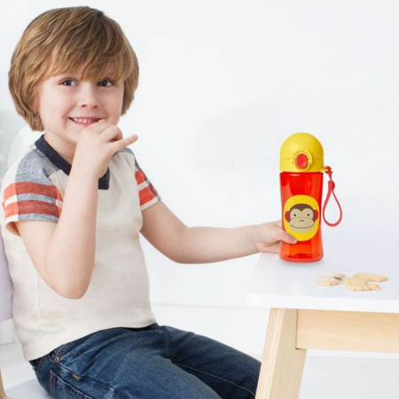 Picture of Skip Hop® Straw Bottle Monkey
