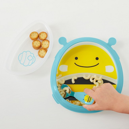 Picture of Skip Hop®  Smart Serve Plate & Bowl Bee