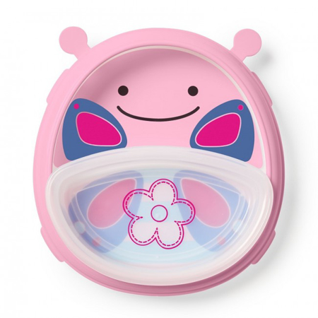 Picture of Skip Hop®  Smart Serve Plate & Bowl Butterfly