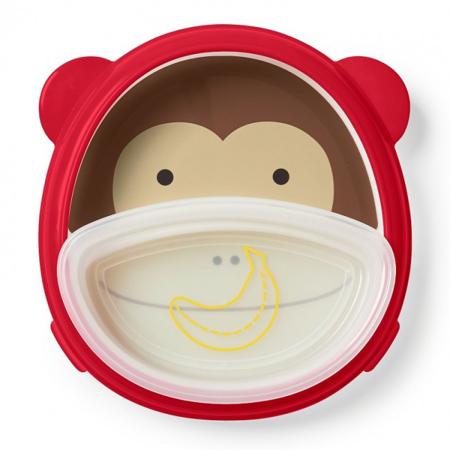 Picture of Skip Hop®  Smart Serve Plate & Bowl Monkey