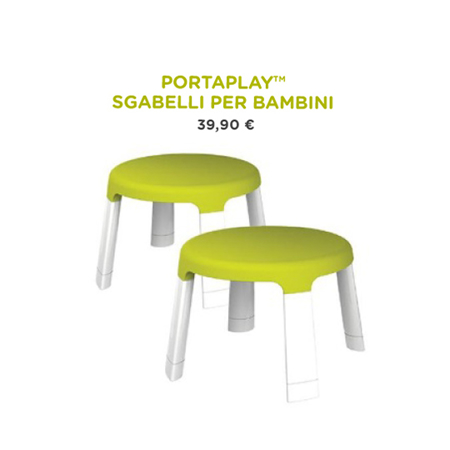 Picture of Oribel® PortaPlay Forest Friends Child Stools
