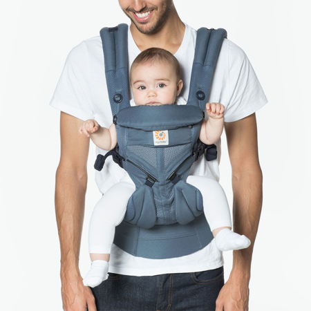Picture of Ergobaby® Omni 360 Cool Air Mesh Baby Carrier All-In-One - Oxford Blue