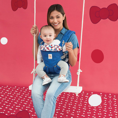 Picture of Ergobaby® Omni 360 Baby Carrier All-In-One Hello Kitty Classic