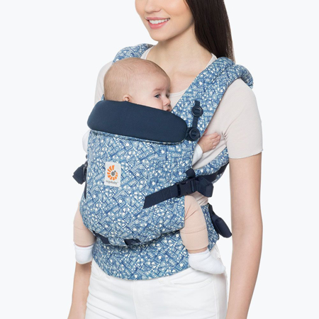 Ergobaby® Adapt Baby Carrier  Batik Indigo