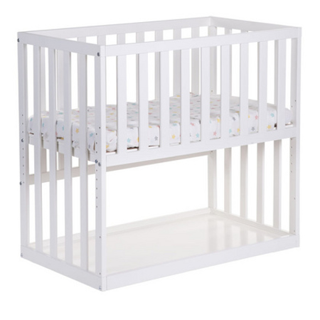 Picture of Childhome® Bedside Crib Beech White