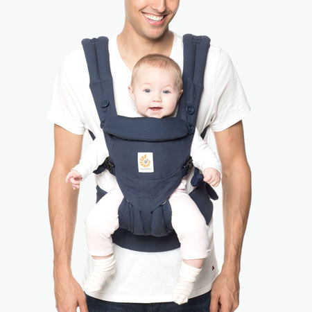 Ergobaby® Omni 360 Baby Carrier All-In-One Midnight Blue