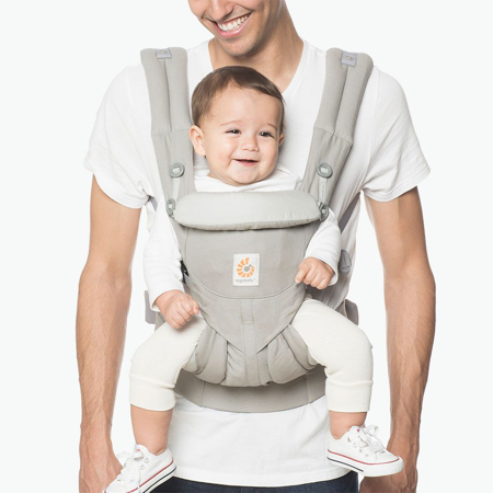 Ergobaby® Omni 360 Baby Carrier All-In-One Pearl Grey