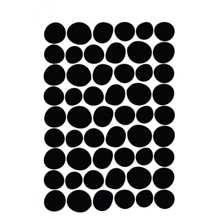 Picture of Pick Art Design® Wall Sticker Incorrectly Shaped Circles