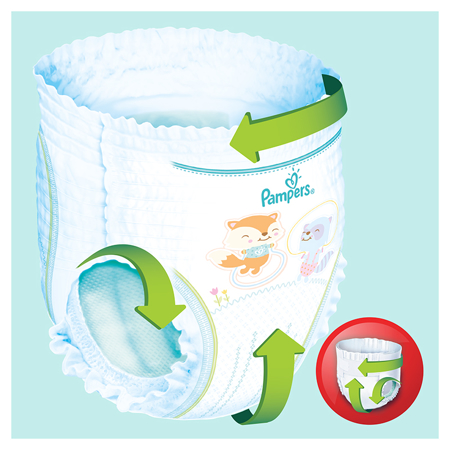 Pampers® Pants Diapers Size 6 (13-18kg) 132 Pcs.
