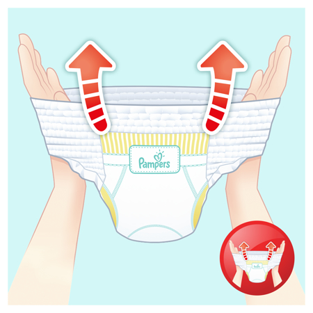 Picture of Pampers® Pants Diapers Size 6 (13-18kg) 132 Pcs.