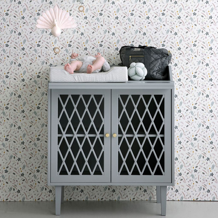 CamCam® Harlequin Changing Table Grey
