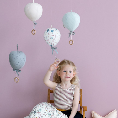 Picture of CamCam® Balloon Music Mobile - Grey Wave