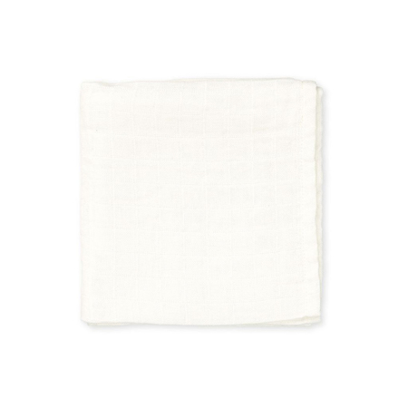Picture of CamCam® Light Muslin Swaddle Creme White (120x120)