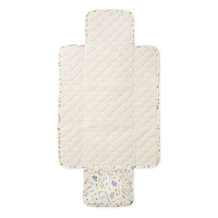 CamCam® Quilted Changing Mat Pressed Leaves Rose
